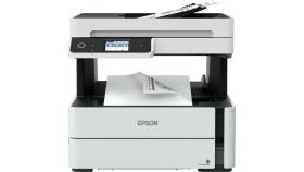 Ink Mono Multifunctional Device EPSON EcoTank M3170 ; 20 ppm, max duty 20.000 pages per month, LCD screen, White