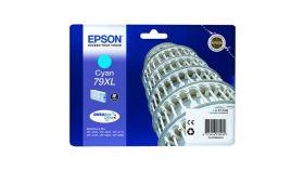 Ink Cartridge EPSON DURABrite™ Ultra, 79XL, Singlepack, 1 x 17.1mlCyan, High, XL for WorkForce Pro WF-4630DWF/WF-4640DTWF/WF-5110DW/WF-5190DW/WF-5620DWF/WF-5690DWF