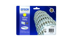 Ink Cartridge EPSON DURABrite™ Ultra, 79XL,  Singlepack, 1 x 17.1 ml Yellow, High, XL for WorkForce Pro WF-4630DWF/WF-4640DTWF/WF-5110DW/WF-5190DW/WF-5620DWF/WF-5690DWF