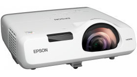 Multimedia Projector  EB-520, Projectors, Short distance/Education,XGA, 1024 x 768, 4:3, 2,700lumen-1,600lumen(economy),16,000: 1, S-Video in, Ethernet interface (100 Base-TX / 10 Base-T), Composite in, Microphone input, USB 2.0 Type B, VGA out,