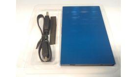"Чекмедже за SSD диск Estillo 2.5"", USB 3.0, Син"