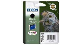 Epson T0791 Black Ink Cartridge - Retail Pack (untagged) for Stylus Photo 1400, Epson Stylus Photo P50