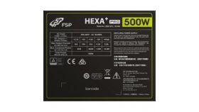 Захранващ блок FSP Group HEXA+ Pro 500 (H3-500), 500W, 80 Plus, A-PFC, 120mm