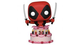 Фигурка Funko POP! Marvel: Deadpool 30th - Deadpool in Cake #776