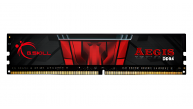 Памет G.SKILL Aegis 16GB DDR4 PC4-24000 3000MHz CL16 F4-3000C16S-16GISB