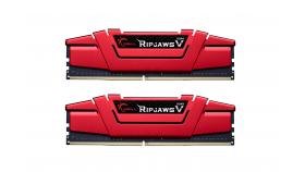 Памет G.SKILL Ripjaws V Red 32GB(2x16GB) DDR4 PC4-25600 3200MHz CL14 F4-3200C14D-32GVR