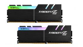 Памет G.SKILL Trident Z RGB 32GB(2x16GB) DDR4 PC4-25600 3200MHz CL14 F4-3200C14D-32GTZR