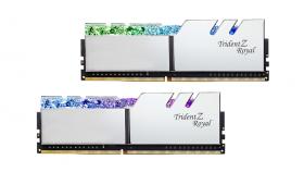 Памет G.SKILL Trident Z Royal Silver 16GB(2x8GB) DDR4 PC4-32000 4000MHz CL16 F4-4000C16D-16GTRSA