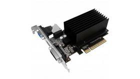 Gainward NVIDIA GeForce GT710 PCI-Express 2.0 x 16, 2048 MB DDR3 (64 bits), VGA, HDMI, DVI SilentFX