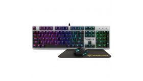 RGB геймърски комплект клавиатура+мишка+подложка за мишка Gamdias HERMES-E1C-COMBO