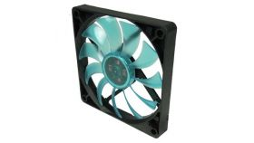 GELID Slim 12 PL Blue 120mmx15.8mm Slim PWM Fan with 4 Blue LED