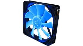 GELID Slim 12 PL Blue 120mmx15.8mm Slim PWM Fan with 4 Blue LED