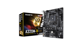 GIGABYTE GA-A320M-H GA-A320M-H AM4 DDR4 M.2 SATA 6Gb/s DVI-D HDMI