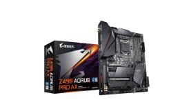 GIGABYTE Z490 AORUS PRO AX LGA 1200 ATX DDR4 6xSATA 8xUSB 2xM.2 HDMI 1xLAN 2.5Gbps