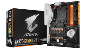Дънна платка GIGABYTE AX370 Gaming 5, Socket AM4, ATX, DDR4, rev 1.0
