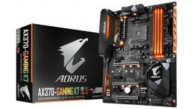 Дънна платка GIGABYTE AX370 Gaming K7, Socket AM4, ATX, DDR4, rev 1.0