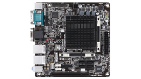 Дънна платка GIGABYTE GA-J3455N-D3H, Intel Quad-Core Celeron® J3455 SoC, Mini ITX, Dual Lan, Dual Serial port