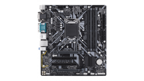 Дънна платка GIGABYTE H310M D3H, Socket 1151 (300 Series), 4 x DDR4 rev. 1.0
