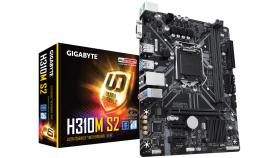 Дънна платка GIGABYTE H310M S2, Socket 1151 (300 Series), 2 x DDR4