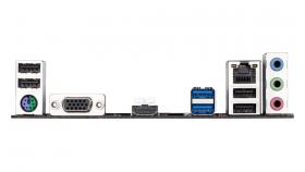 Дънна платка GIGABYTE H410M-H 1.0, Socket 1200 (400 Series), 2 x DDR4