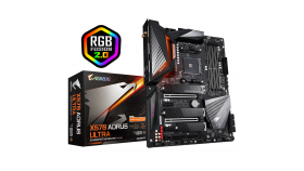 Дънна платка GIGABYTE X570 AORUS ULTRA WI-FI 6 ,Socket AM4, RGB Fusion, PCIe 4.0