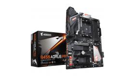 Дънна платка GIGABYTE B450 AORUS PRO Socket AM4, 4 x DDR4, RGB Fusion, (rev. 1.0)