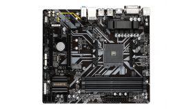 GIGABYTE B450M DS3H V2 AM4 DDR4 2xM.2 4xSATA HDMI ATX MB
