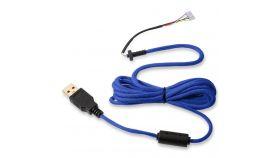 Кабел за мишка Glorious Ascended Cable V2 - Cobalt Blue