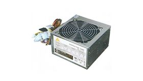 ATX-550W ATX-550W Power Supply GOLDENFIELD AC 115/230V, 47/63Hz, DC 3.3/5/12V, 550W, SLI Ready, 3XSATA conector, 2 x MOLEX, power cable incl., 1x120, Efficiency 65%, Bulk
