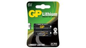 Батерия литиева фото 2CR5 6V GP