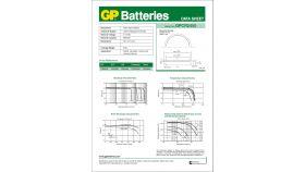 Бутонна батерия литиева GP CR-2450 3V 5 бр. в блистер / цена за 1 бр./ GP