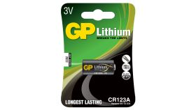 Батерия литиева Фото GP CR-123 3V
