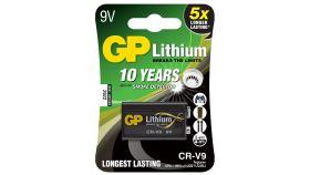 Литиева батерия GP CRV9 9V 1бр. блистер /за детектори на дим/