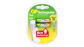 Акумулаторна Батерия GP R03 AAA 650mAh NiMH 65AAAHC-UC2, 2 бр. в опаковка