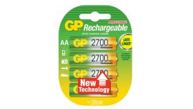 Акумулаторна Батерия GP  R6 AA 2700mAh NiMH 4 бр. GP270AAHC GP