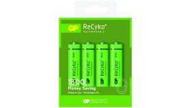Акумулаторна Батерия R6 AA 130AAHCN-GB4 Recyko Gift box 1300mAh NiMH 4 бр. в опаковка GP