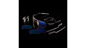 Компютърни очила GUNNAR Lightning Bolt 360 Onyx, Amber, Sun, Rainbow 6 Siege