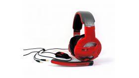 Жични Gaming Слушалки, Gamdias, HEBE GHS2300, Red/Black, 3.5mm 3pin