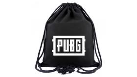 Раница мешка PUBG Logo, Черен