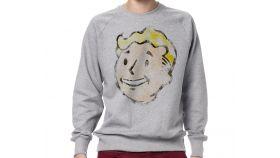 Fallout Sweatshirt Vault Boy Vintage, Size L
