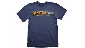 Hearthstone T-Shirt Logo Navy, Size M