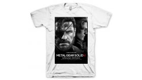 Metal Gear Solid 5 T-Shirt Ground Zeroes, Size XL