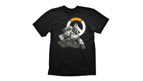 Overwatch T-Shirt Winston Logo, Size S