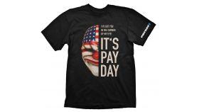Payday 2 T-Shirt Dallas Mask, Size M