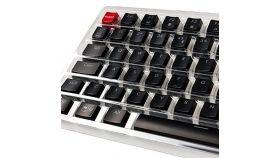 Капачки за механична клавиатура Glorious ABS - 105 Keys Black UK Layout