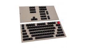 Капачки за механична клавиатура Glorious ABS Doubleshot 104-Keycap Black US-Layout