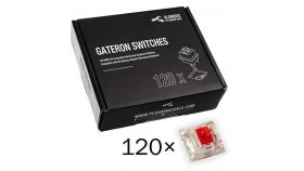 Суичове за механична клавиатура Glorious Gateron Red 120 броя
