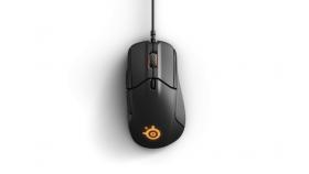 Геймърска мишка SteelSeries, Rival 310 Black, Оптична, Жична, USB