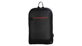 """Раница за лаптоп HAMA Manchester, до 40 см, 15.6"""", с изведен USB порт, черен"""