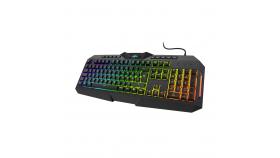 Геймърска полу-механична клавиатура Hama, uRage Exodus 700 Brown switch